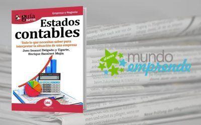 El «GuíaBurros: Estados contables» en el medio escrito de Mundo Emprende